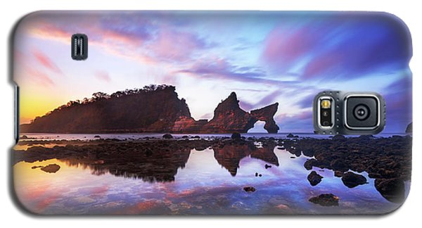 Atuh Beach Dawn Break Scene Galaxy S5 Case