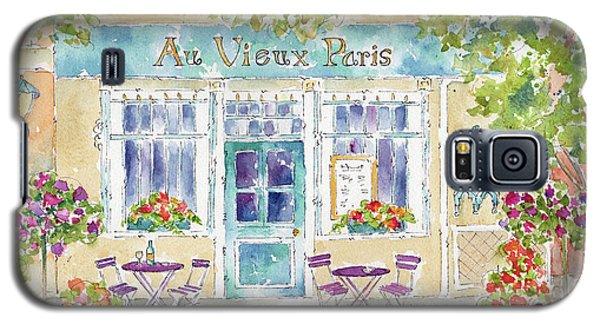 Galaxy S5 Case featuring the painting Au Vieux Paris by Pat Katz
