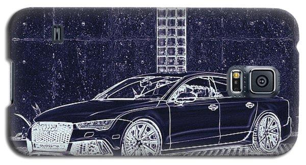 Audi Rs7 Vossen  Galaxy S5 Case by PixBreak Art