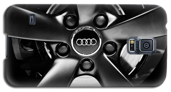 Audi Wheel  Monochrome Galaxy S5 Case by Rachel Cohen