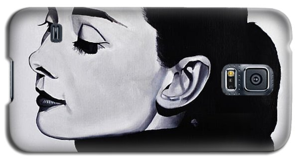 Audrey Hepburn 1 Galaxy S5 Case by Brian Broadway