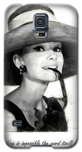 Audrey Hepburn 2 Galaxy S5 Case