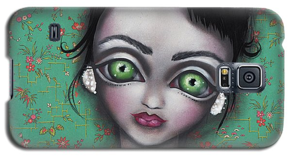 Audrey Hepburn Galaxy S5 Case by Abril Andrade Griffith