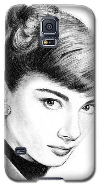 Actors Galaxy S5 Case - Audrey Hepburn by Greg Joens