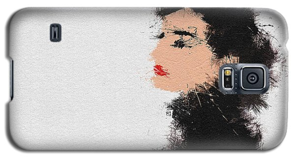Audrey Hepburn Galaxy S5 Case by Miranda Sether