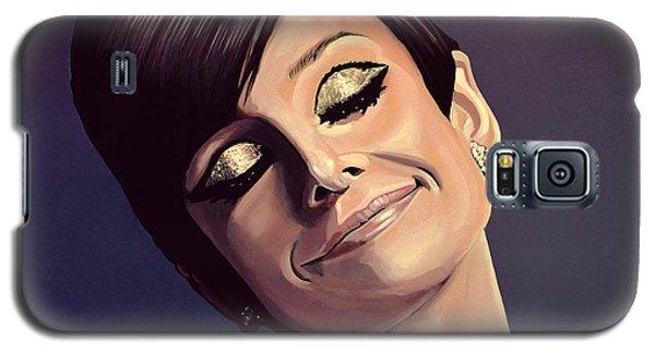 Audrey Hepburn Painting Galaxy S5 Case