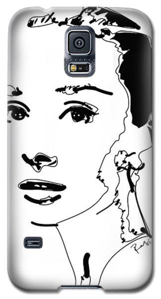 Audrey Hepburn Galaxy S5 Case by Rabi Khan