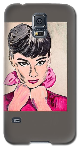 Audrey Hepburn Galaxy S5 Case by Valerie Ornstein