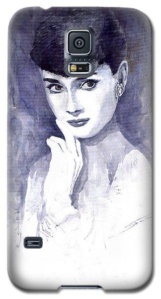 Audrey Hepburn  Galaxy S5 Case by Yuriy  Shevchuk