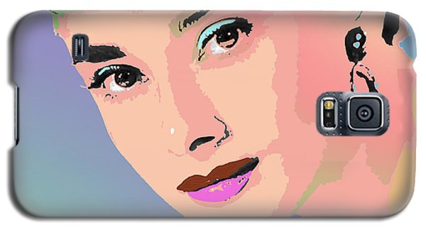 Galaxy S5 Case featuring the digital art Audrey by John Keaton
