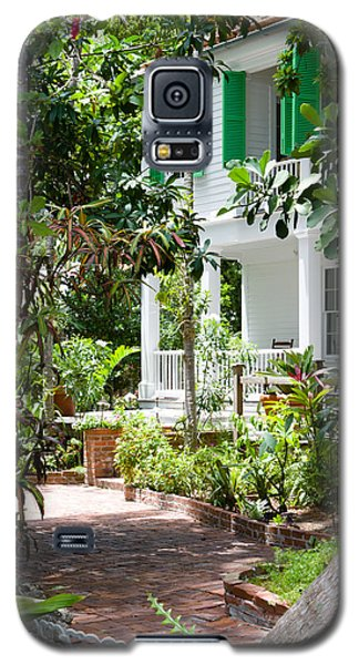 Audubon House Entranceway Galaxy S5 Case by Ed Gleichman