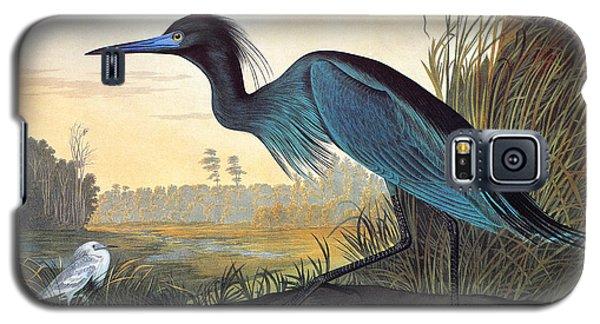 Audubon: Little Blue Heron Galaxy S5 Case by Granger