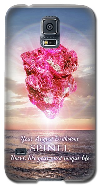 August Birthstone Spinel Galaxy S5 Case