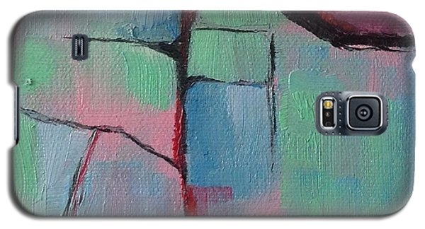 Galaxy S5 Case featuring the painting August Fifth by Suzzanna Frank