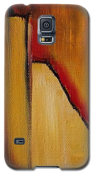 Galaxy S5 Case featuring the painting August Fourth by Suzzanna Frank