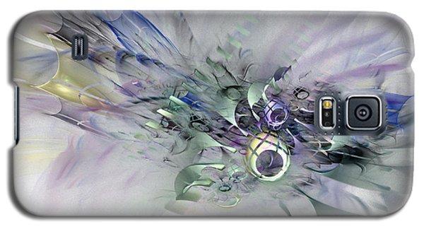 August Silk - Fractal Art Galaxy S5 Case by NirvanaBlues