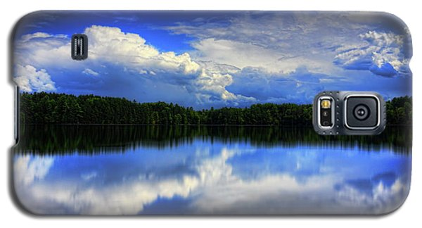 August Summertime On Buck Lake Galaxy S5 Case