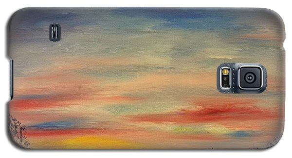 August Sunset In Sw Montana Galaxy S5 Case