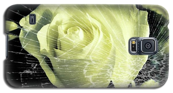 Aunt Edna's Rose Galaxy S5 Case