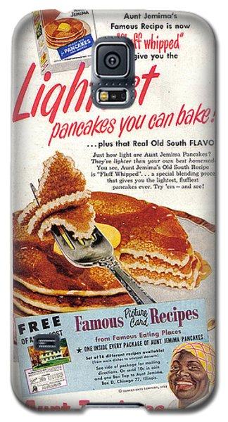 Aunt Jemima Pancakes Galaxy S5 Case