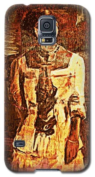 Auntie Galaxy S5 Case by Vannetta Ferguson