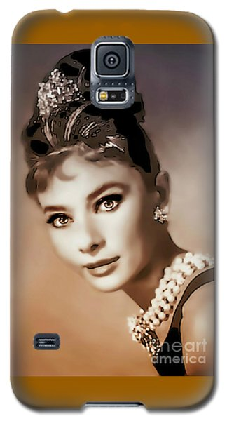 Aurdrey Hepburn - Famous Actress Galaxy S5 Case