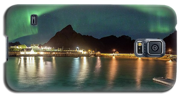 Aurora Above Turquoise Waters Galaxy S5 Case