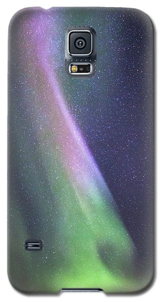 Galaxy S5 Case featuring the photograph Aurora Abstract by Hitendra SINKAR