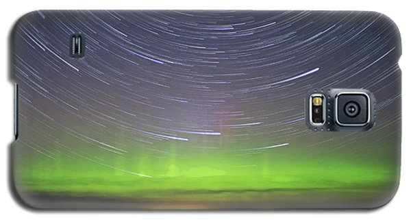 Aurora And Startrails Galaxy S5 Case by Charline Xia