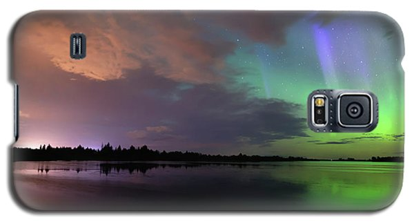 Aurora And Storm Clouds Galaxy S5 Case