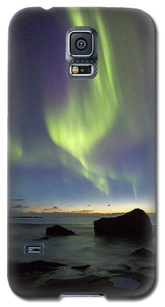 Aurora At Uttakleiv Galaxy S5 Case