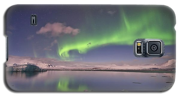 Aurora Borealis And Reflection #2 Galaxy S5 Case