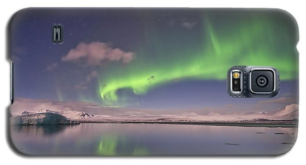 Aurora Borealis And Reflection #2 Galaxy S5 Case