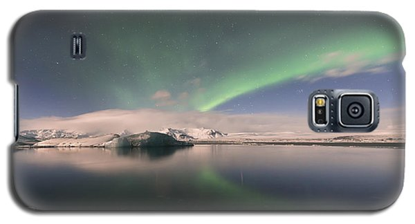 Aurora Borealis And Reflection Galaxy S5 Case