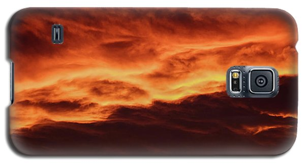Aurora Firey Sunset Galaxy S5 Case