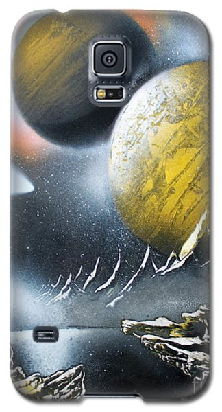 Galaxy S5 Case featuring the painting Aurora by Greg Moores