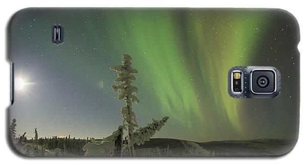 Aurora In The Hoar Frost Galaxy S5 Case