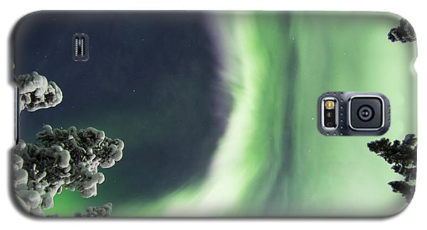 Aurora Lying On Your Back Galaxy S5 Case