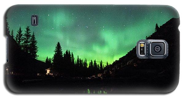 Aurora On Moraine Lake Galaxy S5 Case