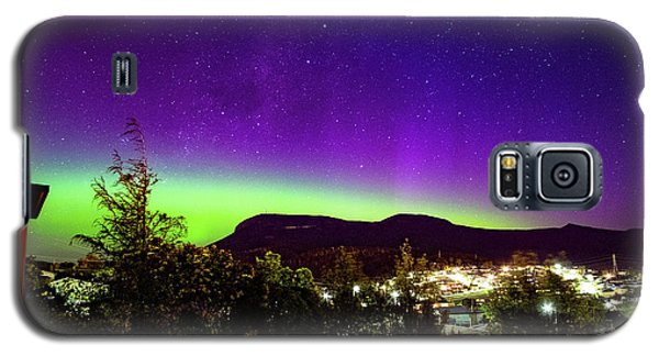 Aurora Over Mt Wellington, Hobart Galaxy S5 Case
