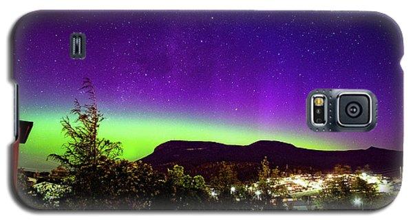 Aurora Over Mt Wellington, Hobart Galaxy S5 Case