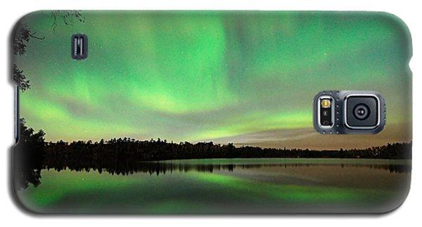 Aurora Over Tofte Lake Galaxy S5 Case
