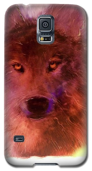 Galaxy S5 Case featuring the painting Aurora Rising by FeatherStone Studio Julie A Miller