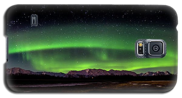 Aurora Spiral Galaxy S5 Case