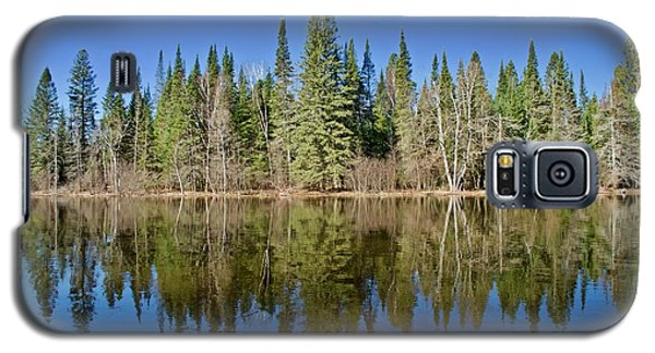 Ausable Reflections 1768 Galaxy S5 Case by Michael Peychich