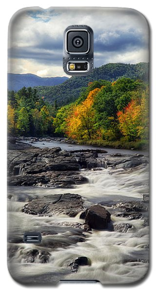 Galaxy S5 Case featuring the photograph Ausable River Jay Ny by Mark Papke