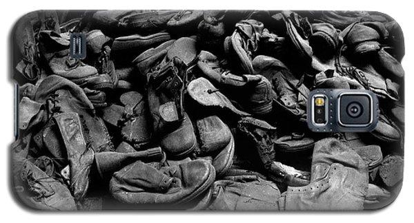 Auschwitz-birkenau Shoes Galaxy S5 Case