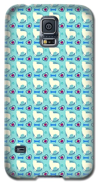 Aussie Dog Pattern Galaxy S5 Case