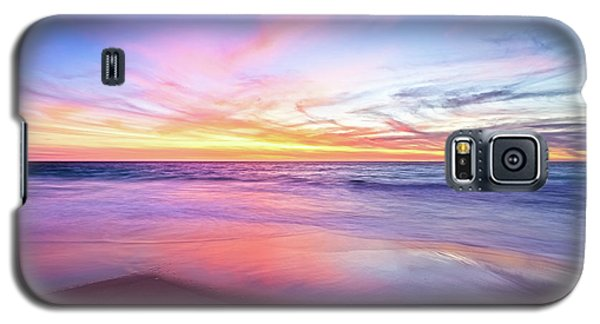 Aussie Sunset, Claytons Beach, Mindarie Galaxy S5 Case by Dave Catley