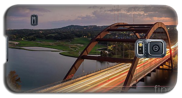 Austin 360 Bridge At Night Galaxy S5 Case